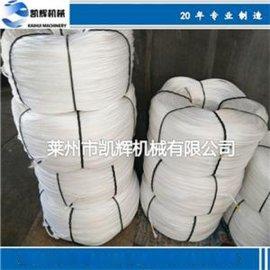 塑料圆丝拉丝制绳机价格实惠,塑料制绳机