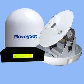 船載衛星天線YM450PM船用電視天線船用自動跟蹤衛星天線