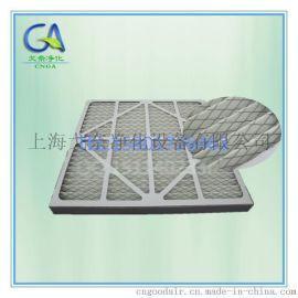 棉+护网板式初效过滤器 出口厂家