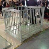 陕西西安2吨烤漆小地磅5吨养殖场电子地磅带围栏