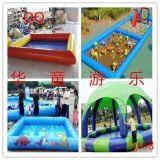 充氣遊泳池充氣水池水上樂園水池兒童戲水池 水池滑梯批發