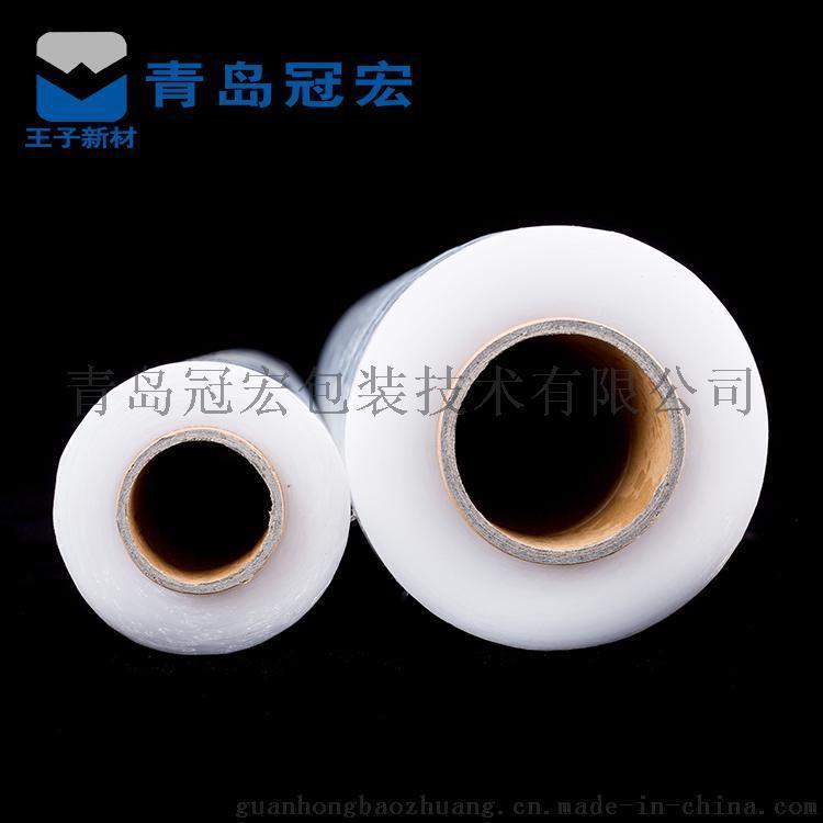 青岛厂家供应PE材质拉伸膜物流包装缠绕膜