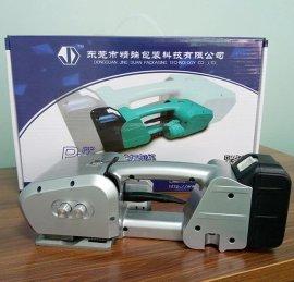 电动打包机打包PP/PET带工作原理
