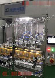 昆明XBGZX-4G全自动单列4管活塞灌装机