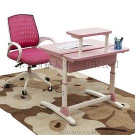 高檔學生課桌椅,可調節升降課桌椅