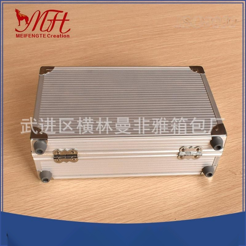 厂家供应铝合金黑色航空铝箱 防震EVA舞台设备铝箱 手提仪器箱