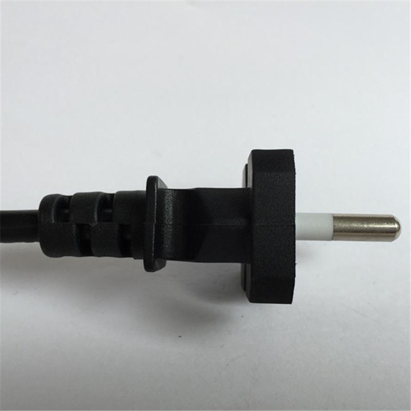 厂家定制 韩国编织线 韩标电源线插头 家用电器电源线
