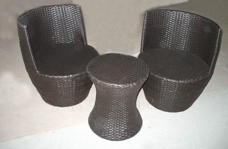 室内PE藤茶桌椅(ACF-RF20)