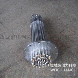 伟创力电热生产**不锈钢法兰电热管