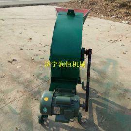 三相电秸秆粉碎加工机械,大型草料粉碎机