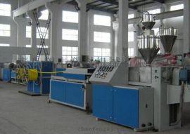 PP/PE/PVC单壁波纹管生产线