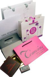 厂家定做白卡纸手提袋定制印LOGO包装服装袋