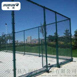 体育场护栏网/篮球场围栏网/学校勾花围网