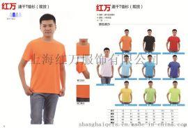 男女T恤衫定制 廣告衫 園領衫