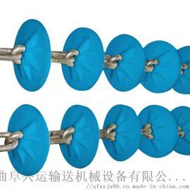 石灰粉装罐管链机运行平稳 粉体料管链机