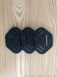 厂家批发箱包扣具 塑料多边织带扣 安全带配件