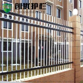供应市政小区别墅铁艺围栏  安全市政锌钢围墙