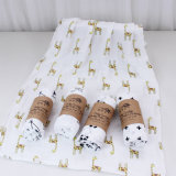 雙層竹纖維毯子 寶寶紗布襁褓巾 嬰兒竹纖維包巾