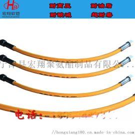 液压设备高压油软管,120Mpa树脂高压液压软管