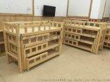成都泸州幼儿园木制学生床 儿童床厂家