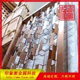 佛山不锈钢制品厂 供应304古铜亮色不锈钢屏风