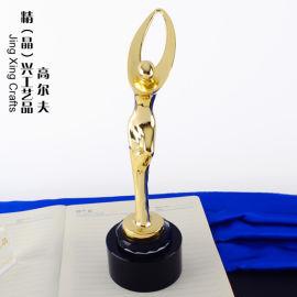 合金高尔夫奖杯奖牌 体育运动合金金属奖杯