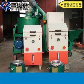 天津27吨小型前卡顶数控张拉机操作视频