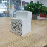 创意时尚亚克力白色笔筒学生桌面摆件简约办公收纳笔盒