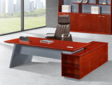 2486款2.4米油漆办公桌 胡桃木皮绿色环保家具