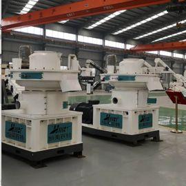 木板厂下脚料粉碎制粒生产线设备 湖南生物质颗粒机
