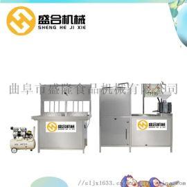 彩色全自动豆腐机 鲜豆腐机设备 广东惠州豆腐机械厂