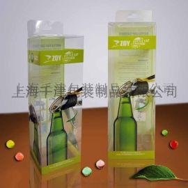 供应彩印PE折盒 彩印透明塑料胶盒 价格实惠