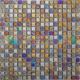 湖南衡阳超强实力的幻彩玻璃水晶马赛克瓷砖装饰材料厂家批发