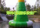 水上攀巖充氣漂浮物/湖北夏季水上樂園成功案例
