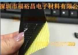 0.13黑色防静电铁氟龙胶带 防静电PTFE胶带 耐磨耐高温铁氟龙胶带