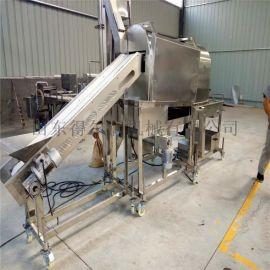 全自动鸡米花加工设备 DR6型鸡米花裹粉机设备图片