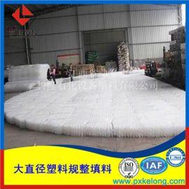 专业生产脱硫塔250Y塑料规整填料PP孔板波纹填料