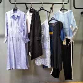 18年深圳品牌【例慕】春夏装品牌折扣女装走份批发