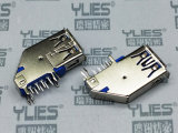 507-USB连接器 3.0母座侧插