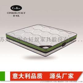 南京床垫厂家 乳胶垫椰棕垫弹簧床垫席梦思批发定制