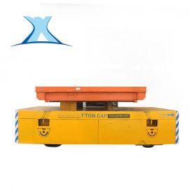无轨电动平车 胶轮无轨电动平车铁合金铸造转弯轨道平车