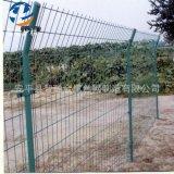 护栏网厂家直销双边丝护栏网 果园圈地护栏网 绿色钢丝护栏网围栏