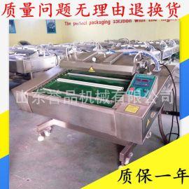 肉类连续式真空包装机 麻辣豆干翻滚式链条传动1000型真空包装机