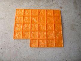 桓石 彩色艺术混凝土压模地坪专用聚氨酯模具 仿石质仿木纹仿砖型图案