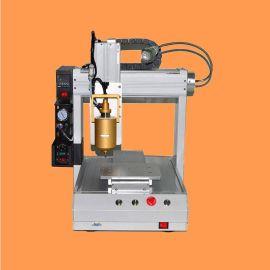 厂家批发全自动三轴点胶机 电子热熔胶打胶机 锡膏点胶机设备平台