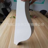 2.5訂製弧形焊接鋁單板 吊頂造型鋁單板天花幕牆板