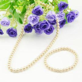 TXL1323 项链手链套装 啡色防珍珠套装首饰 百拾特价 厂家直销