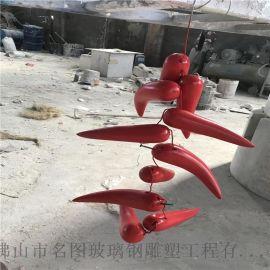 火锅店玻璃钢模型展示雕塑、佛山玻璃钢仿真雕塑厂家