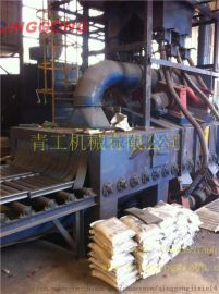 通过式抛丸机,辊道式通过抛丸机,抛丸机生产厂家