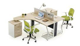 办公工位桌定做 电教室桌椅 家具拆装